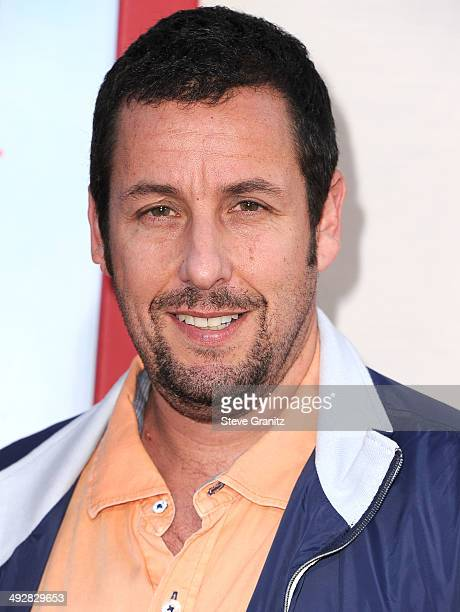 Adam Sandler arrives at the 'Blended' Los Angeles Premiere at TCL Chinese Theatre on May 21 2014 in Hollywood California