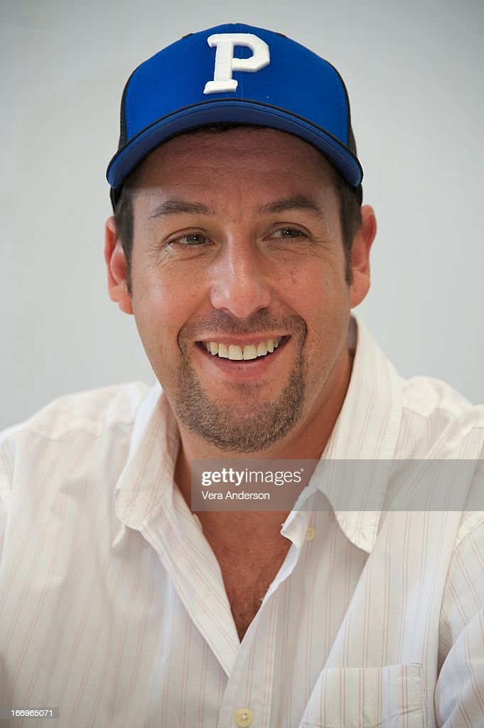 Adam Sandler at the 'Grown Ups 2' Press Junket on April 18, 2013 in Cancun, Mexico.