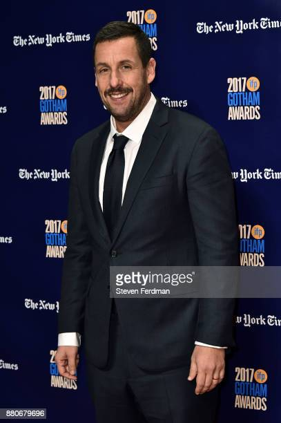 Adam Sandler attends IFP's 27th Annual Gotham Independent Film Awards at Cipriani Wall Street on November 27 2017 in New York City