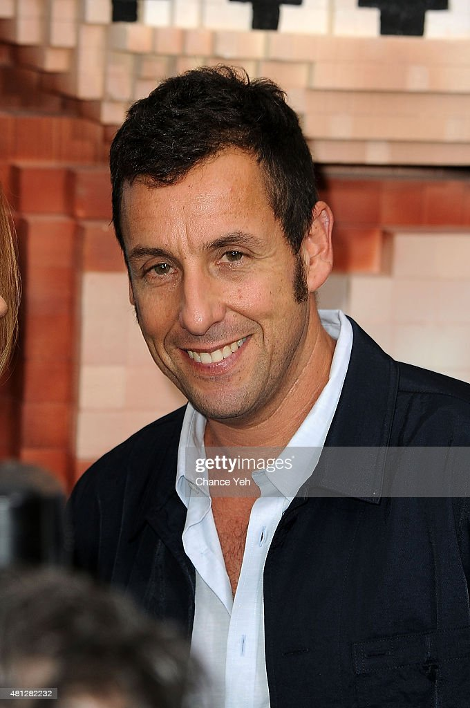 Adam Sandler attends 'Pixels' New York premiere at Regal E-Walk on ...