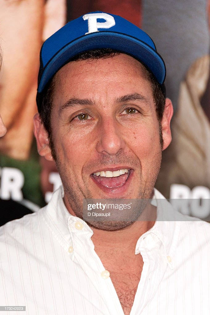 Adam Sandler attends the 'Grown Ups 2' New York Premiere at AMC Lincoln Square Theater on July 10, 2013 in New York City.
