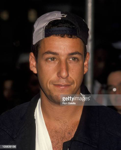 Adam Sandler during 'Airheads' New York City Premiere at 57th Street Playhouse in New York City New York United States