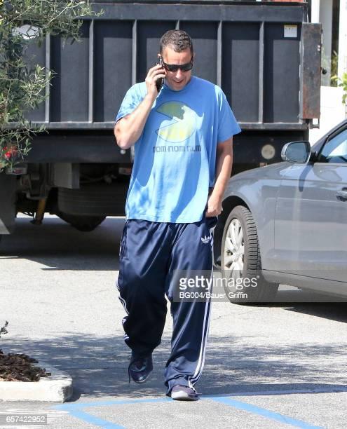 Adam Sandler is seen on March 24 2017 in Los Angeles California