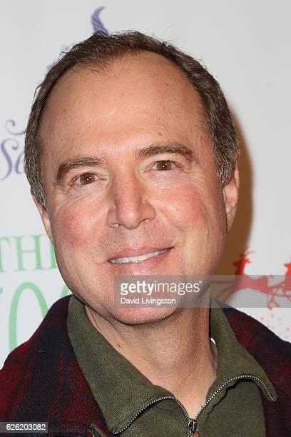 Adam Schiff arrives at the 85th Annual Hollywood Christmas Parade on November 27 2016 in Hollywood California