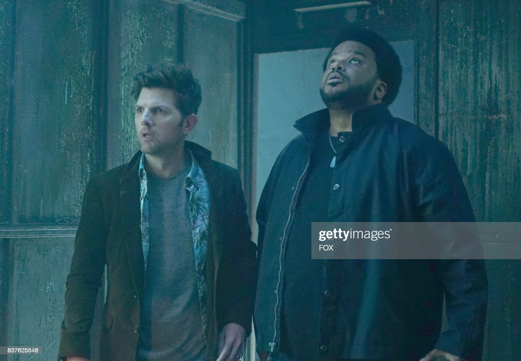 Adam Scott and Craig Robinson in GHOSTED premiering this fall on FOX.