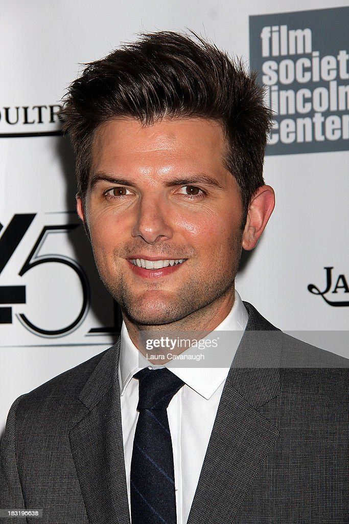 Adam Scott attends the Centerpiece Gala Presentation Of 'The Secret Life Of Walter Mitty' during the 51st New York Film Festival at Alice Tully Hall at Lincoln Center on October 5, 2013 in New York City.