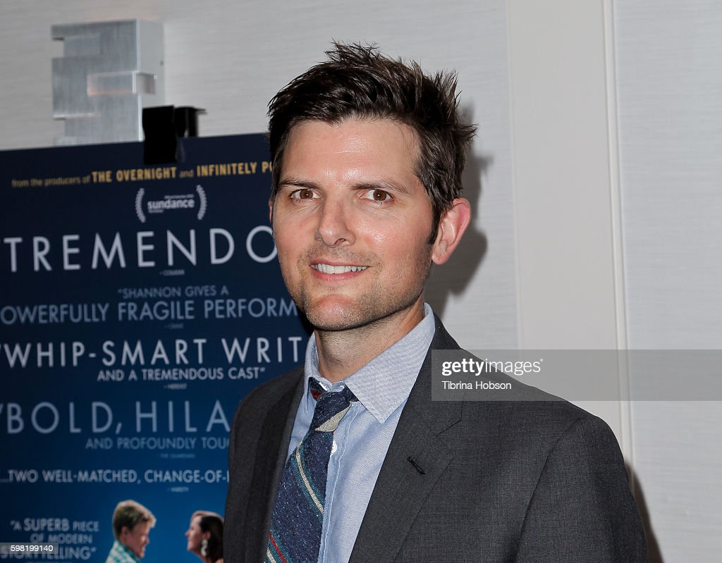 Adam Scott attends the Premiere of Vertical Entertainment's 'Other People' at The London West Hollywood on August 31, 2016 in West Hollywood, California.