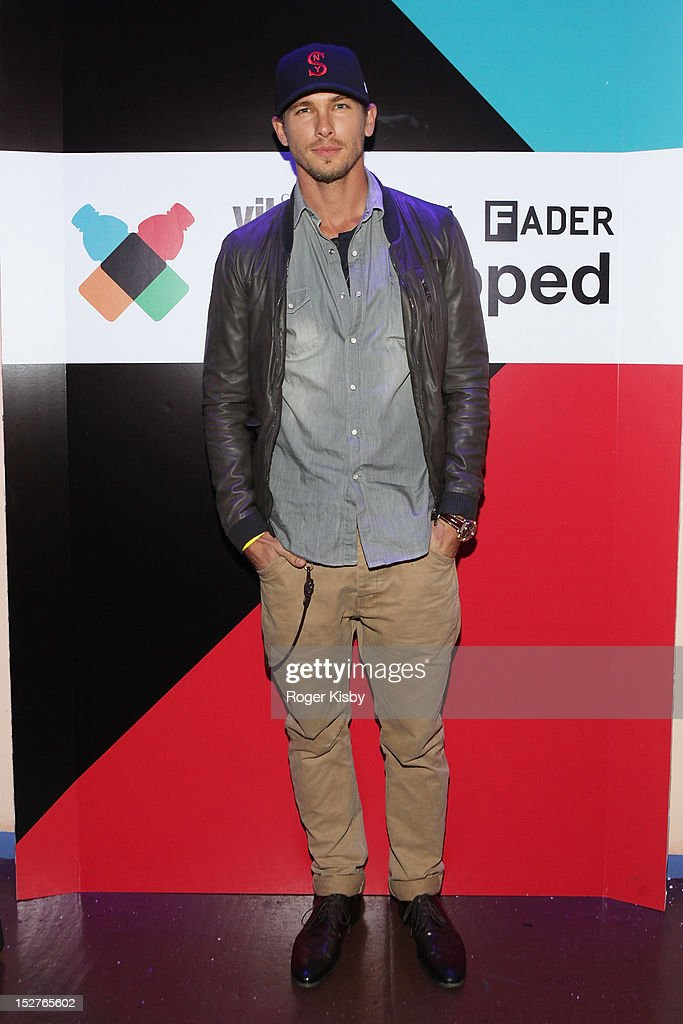 Adam Senn attends vitaminwater Fader uncapped at the The Angel Orensanz Foundation on September 24, 2012 in New York City.