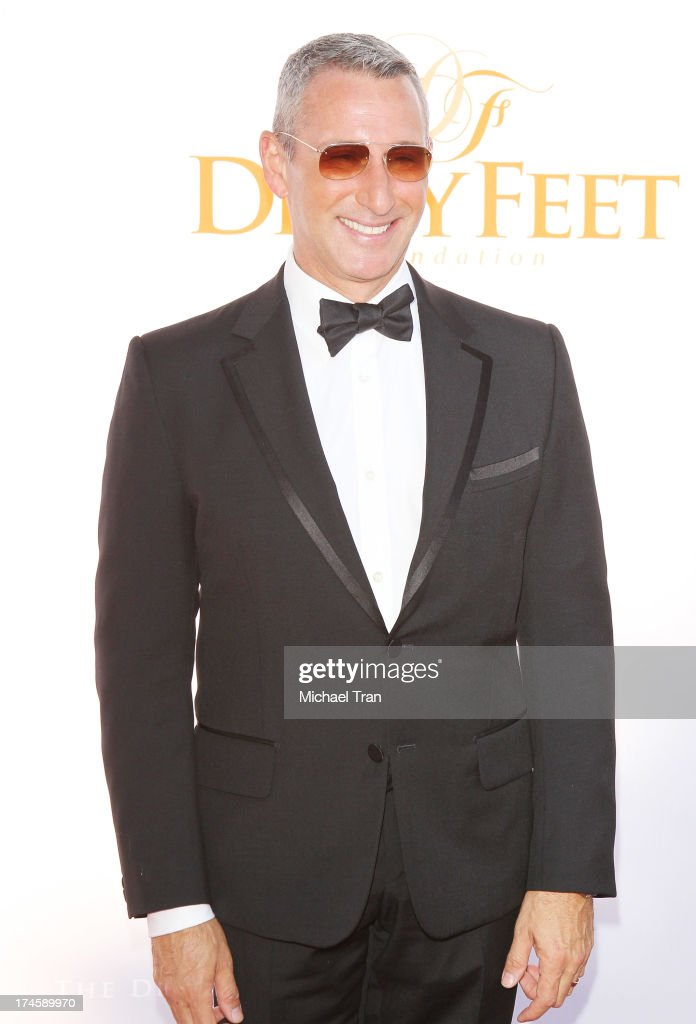 <a gi-track='captionPersonalityLinkClicked' href=/galleries/search?phrase=Adam+Shankman&family=editorial&specificpeople=1295239 ng-click='$event.stopPropagation()'>Adam Shankman</a> arrives at the Dizzy Feet Foundation's 3rd Annual Celebration of Dance Gala held at Dorothy Chandler Pavilion on July 27, 2013 in Los Angeles, California.