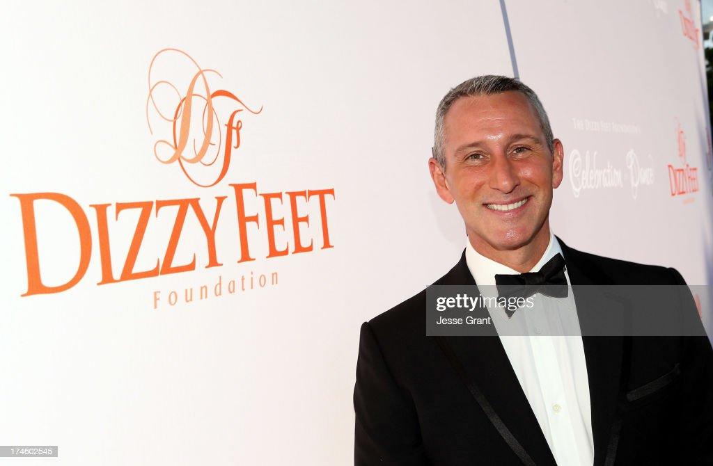 <a gi-track='captionPersonalityLinkClicked' href=/galleries/search?phrase=Adam+Shankman&family=editorial&specificpeople=1295239 ng-click='$event.stopPropagation()'>Adam Shankman</a> attends the Dizzy Feet Foundation Third 'Celebration of Dance' Gala at The Music Center on July 27, 2013 in Los Angeles, California.