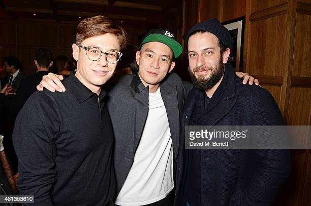 Adam Shapiro Eugene Tong Details Magazine Style Director and Josh Peskowitz attend as Details x CaselyHayford celebrate London Collections Men in the...