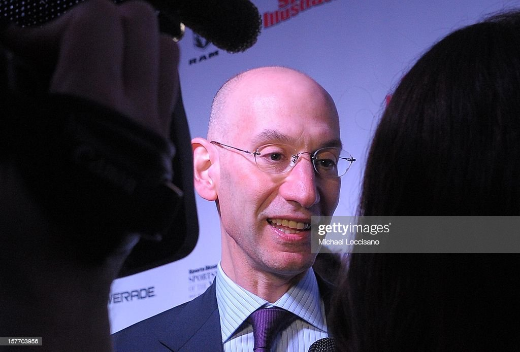 Adam Silver the deputy commissioner and chief operating officer of the National Basketball Association attends the 2012 Sports Illustrated Sportsman of the Year award presentation at Espace on December 5, 2012 in New York City.