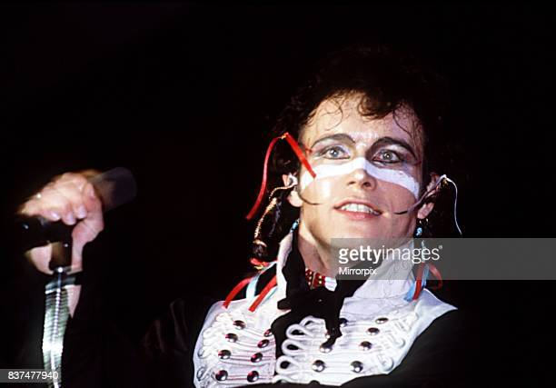 Adam singing live in concert 1981