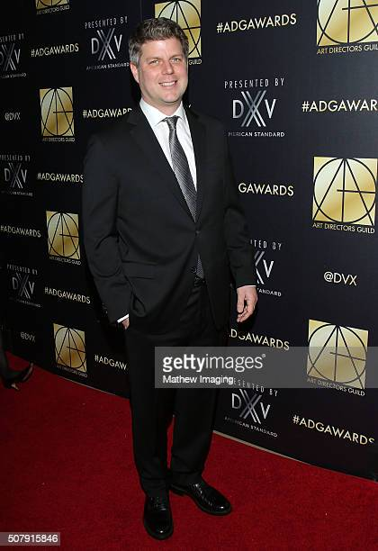 Adam Stockhausen arrives at the 20th Annual Art Directors Guild Excellence In Production Design Awards at The Beverly Hilton Hotel on January 31 2016...