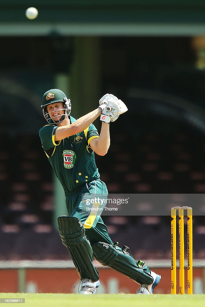 Adam Voges of Australia 'A' bats during the International Tour match between Australia 'A' and the England Lions at Sydney Cricket Ground on February 25, 2013 in Sydney, Australia.