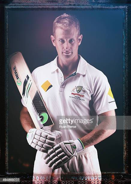 Adam Voges of Australia poses during an Australian Test Cricket Portrait Session on October 19 2015 in Sydney Australia