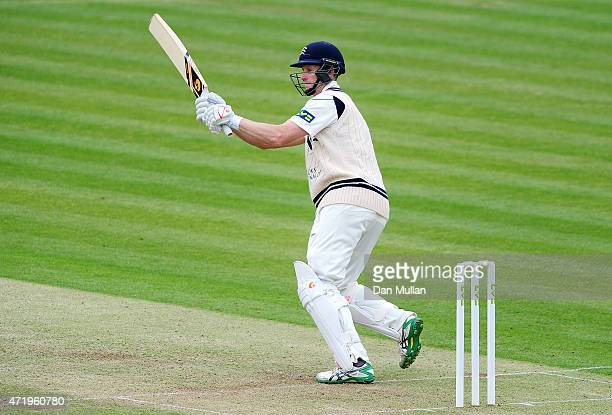 Adam Voges of Middlesex bats during day one of the LV County Championship match between Middlesex and Durham at Lord's Cricket Ground on May 2 2015...