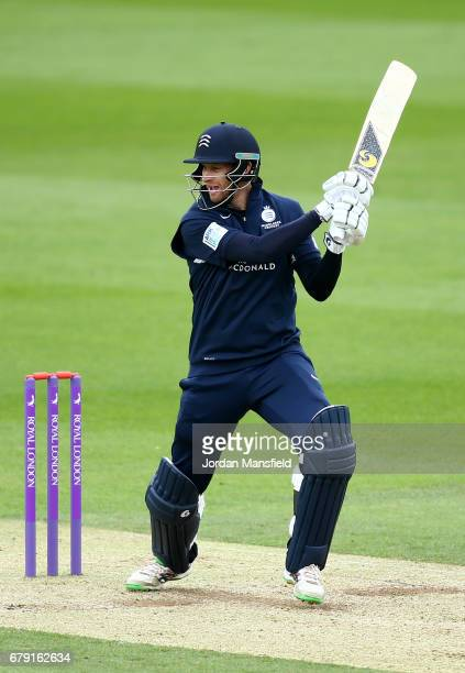 Adam Voges of Middlesex bats during the Royal London OneDay Cup match between Surrey and Middlesex at The Kia Oval on May 5 2017 in London England