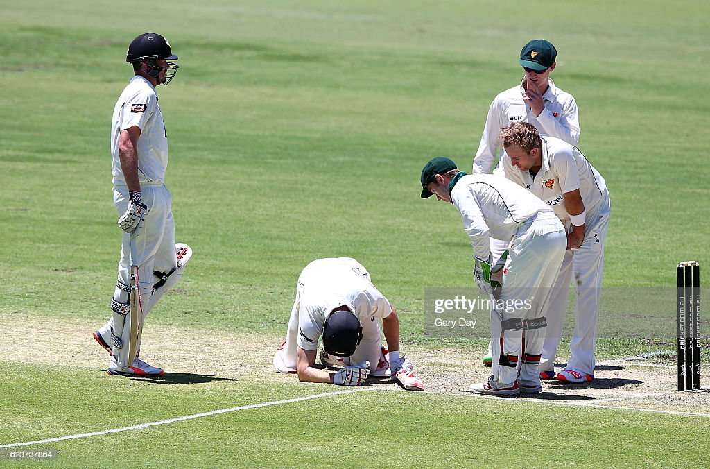 Sheffield Shield - WA v TAS: Day 1 : News Photo