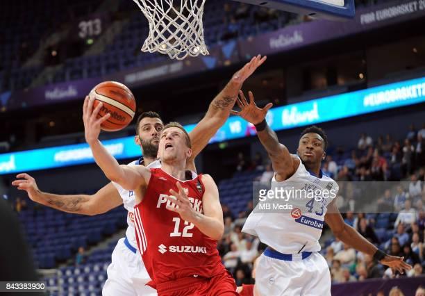 Adam Waczynski of Poland Thanasis Antetokounmpo of Greece during the FIBA Eurobasket 2017 Group A match between Greece and Poland on September 6 2017...