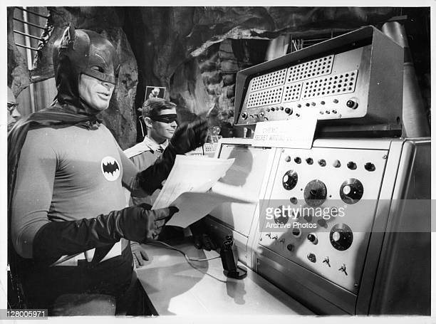 Adam West as Batman in a scene from the film 'Batman' 19661968 Series