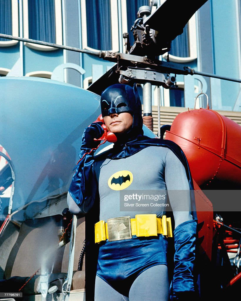 <a gi-track='captionPersonalityLinkClicked' href=/galleries/search?phrase=Adam+West+-+Actor&family=editorial&specificpeople=235413 ng-click='$event.stopPropagation()'>Adam West</a> as Bruce Wayne/Batman in the movie 'Batman', 1966.