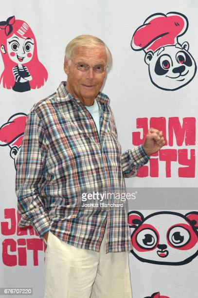 Adam West attends 'Family Guy Another Freakin' Mobile Game' Live Stream on May 2 2017 in Culver City California