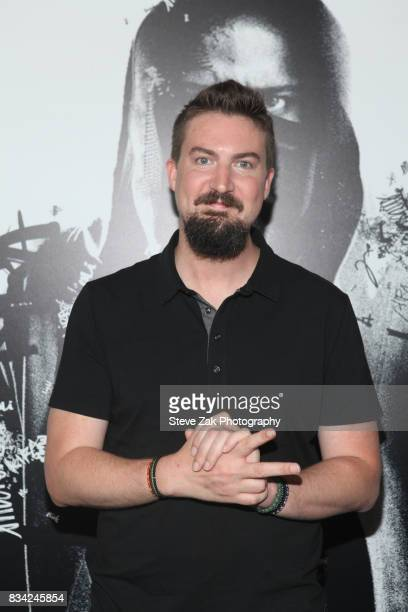 Adam Wingard attends 'Death Note' New York premiere at AMC Loews Lincoln Square 13 theater on August 17 2017 in New York City