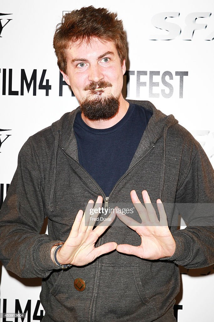 <a gi-track='captionPersonalityLinkClicked' href=/galleries/search?phrase=Adam+Wingard&family=editorial&specificpeople=4607303 ng-click='$event.stopPropagation()'>Adam Wingard</a> attends the UK premiere of 'The Guest' at Vue Leicester Square on August 21, 2014 in London, England.