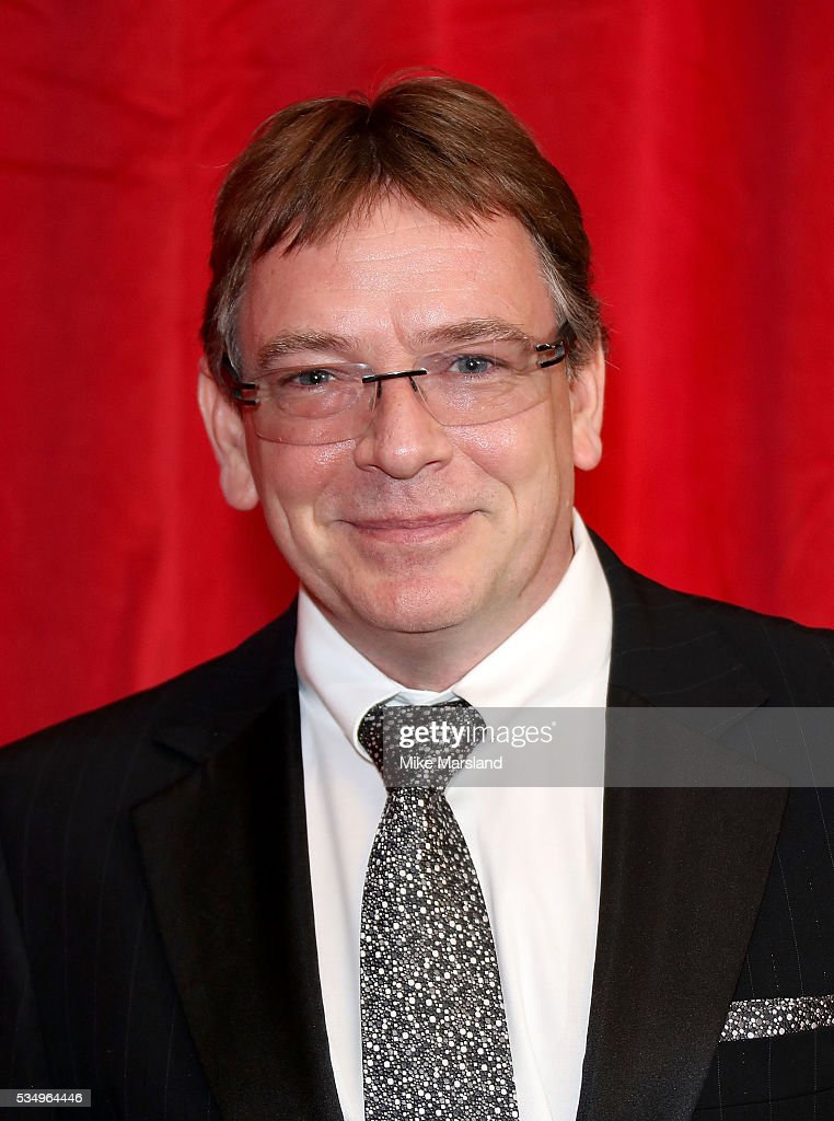 <a gi-track='captionPersonalityLinkClicked' href=/galleries/search?phrase=Adam+Woodyatt&family=editorial&specificpeople=3121680 ng-click='$event.stopPropagation()'>Adam Woodyatt</a> attends the British Soap Awards 2016 at Hackney Empire on May 28, 2016 in London, England.