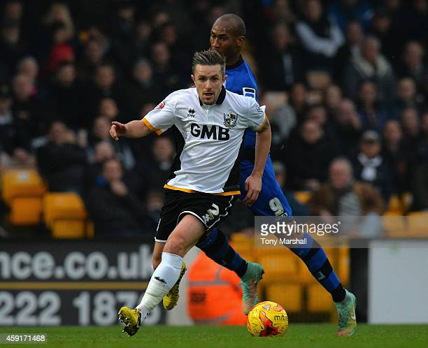 Adam Yates of Port Vale during the Sky Bet League One match between Port Vale and Rochdale at Vale Park on November 15 2014 in Burslem England