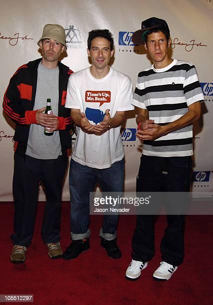 Adam Yauch Adam Horovitz and Mike Diamond of Beastie Boys