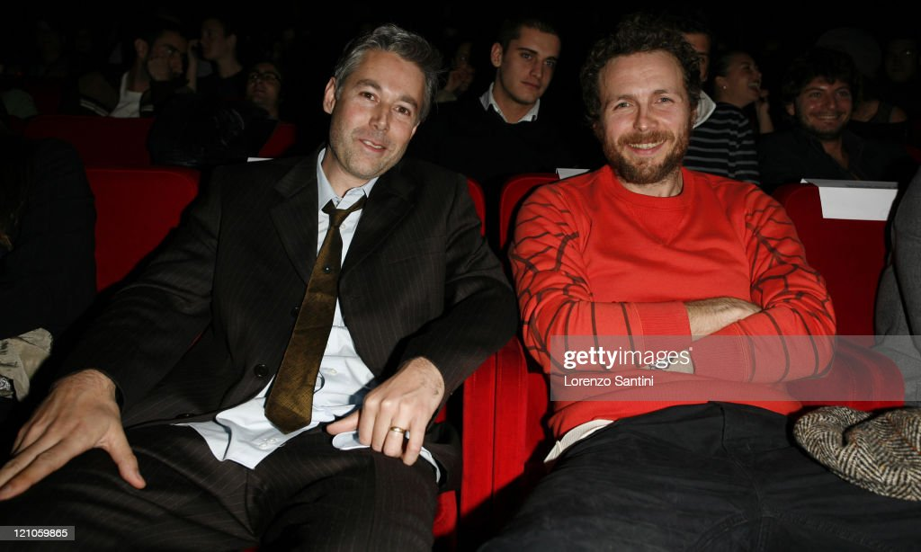 <a gi-track='captionPersonalityLinkClicked' href=/galleries/search?phrase=Adam+Yauch&family=editorial&specificpeople=209371 ng-click='$event.stopPropagation()'>Adam Yauch</a> from <a gi-track='captionPersonalityLinkClicked' href=/galleries/search?phrase=Beastie+Boys&family=editorial&specificpeople=228787 ng-click='$event.stopPropagation()'>Beastie Boys</a> and <a gi-track='captionPersonalityLinkClicked' href=/galleries/search?phrase=Lorenzo+Cherubini&family=editorial&specificpeople=4945493 ng-click='$event.stopPropagation()'>Lorenzo Cherubini</a> 'Jovanotti'