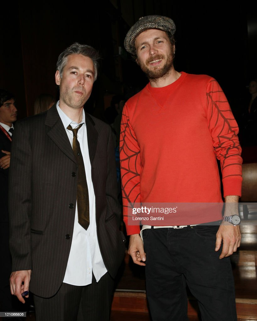Adam Yauch from Beastie Boys and Lorenzo Cherubini 'Jovanotti'