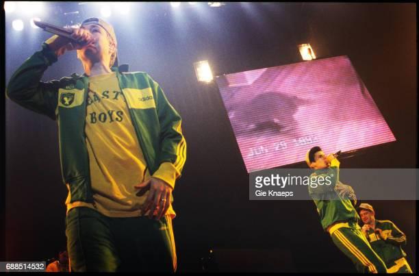 Adam Yauch Mike Diamond Adam Horovitz Beastie Boys Vorst Nationaal Brussels Belgium