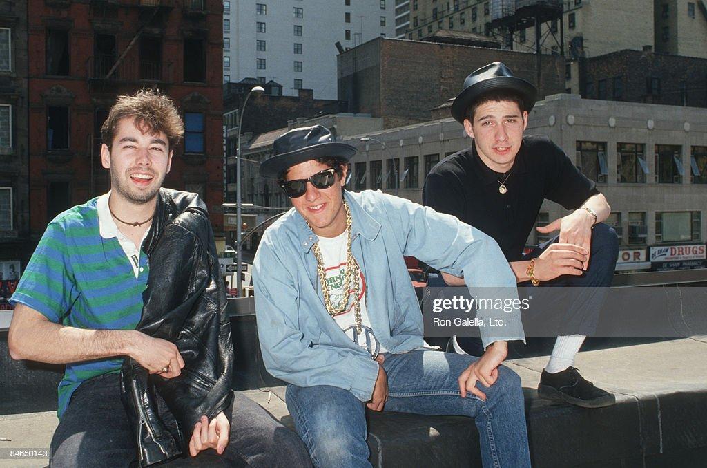 Adam Yauch Mike Diamond and Adam Horovitz of the Beastie Boys