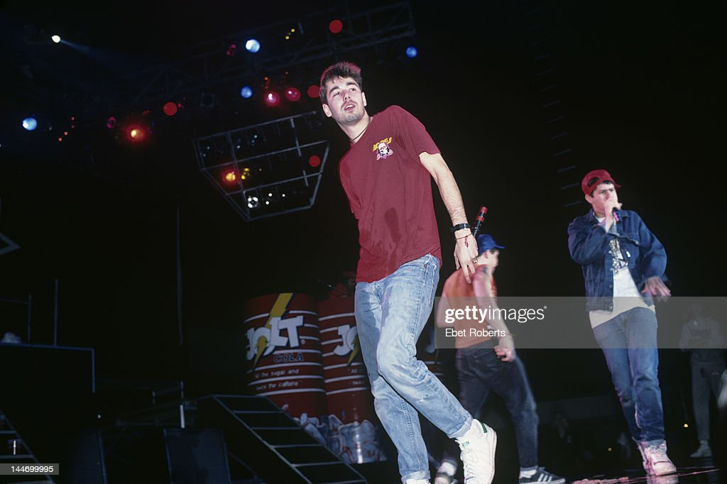 Adam Yauch performing with the Beastie Boys at The Centrum in Worcester Massachusetts on April 9 1987 Yauch was also known by the stage name MCA