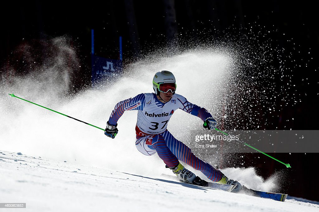 Adam Zampa of Slovakia races during the Men's Giant Slalom on Day 12 of the 2015 FIS Alpine World Ski Championships on February 13, 2015 in Beaver Creek, Colorado.