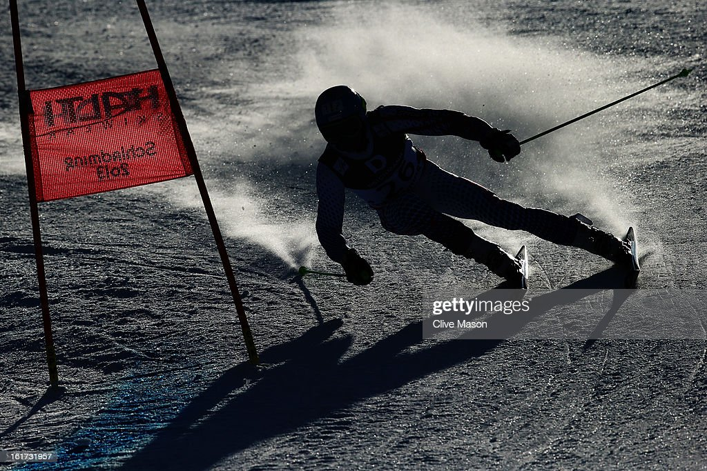 Adam Zampa of Slovakia skis in the Men's Giant Slalom during the Alpine FIS Ski World Championships on February 15, 2013 in Schladming, Austria.