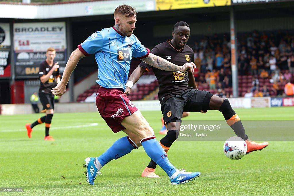 Scunthorpe United v Hull City - Pre-Season Friendly