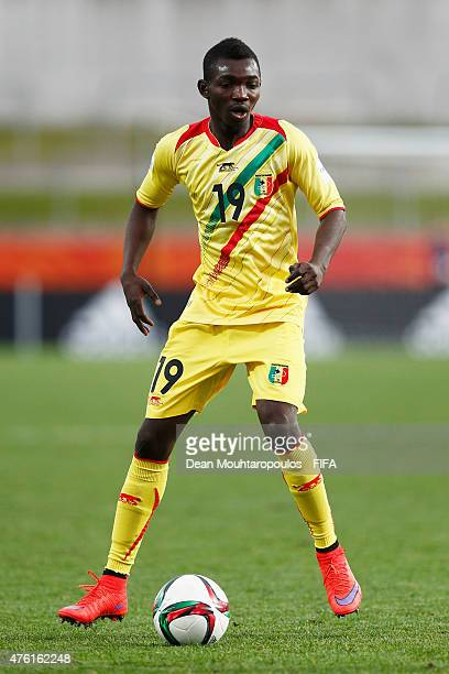 Adama Traore of Mali in action during the FIFA U20 World Cup New Zealand 2015 Group D match between Mali and Uruguay held at Waikato Stadium on June...