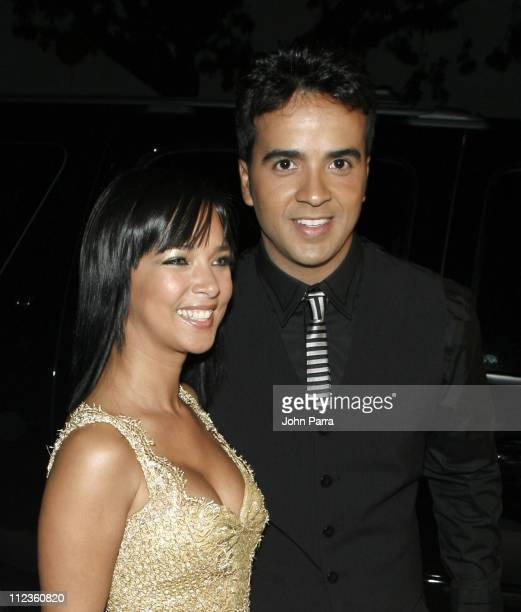 Adamari Lopez and Luis Fonsi during People en Espanol Stars of the Year Arrivals at Kary Y in Miami Florida United States