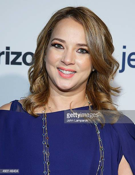 Adamari Lopez attends 4th Annual People en Espanol Festival at Jacob Javitz Center on October 17 2015 in New York City