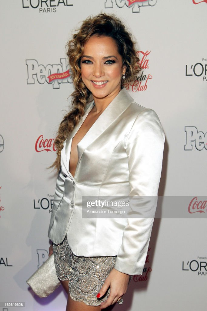 Adamari Lopez attends People en Epanol's Las Estrellas del Ano 2011 at Rubell Family Collection on December 8, 2011 in Miami, Florida.