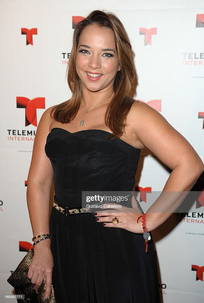 Adamari Lopez attends Telemundo International NATPE VIP Party at Bamboo Miami on January 28, 2013 in Miami, Florida.
