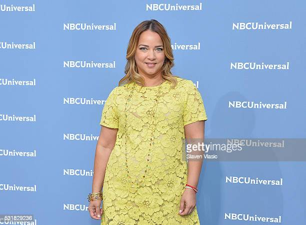 Adamari Lopez attends the NBCUniversal 2016 Upfront Presentation on May 16 2016 in New York New York