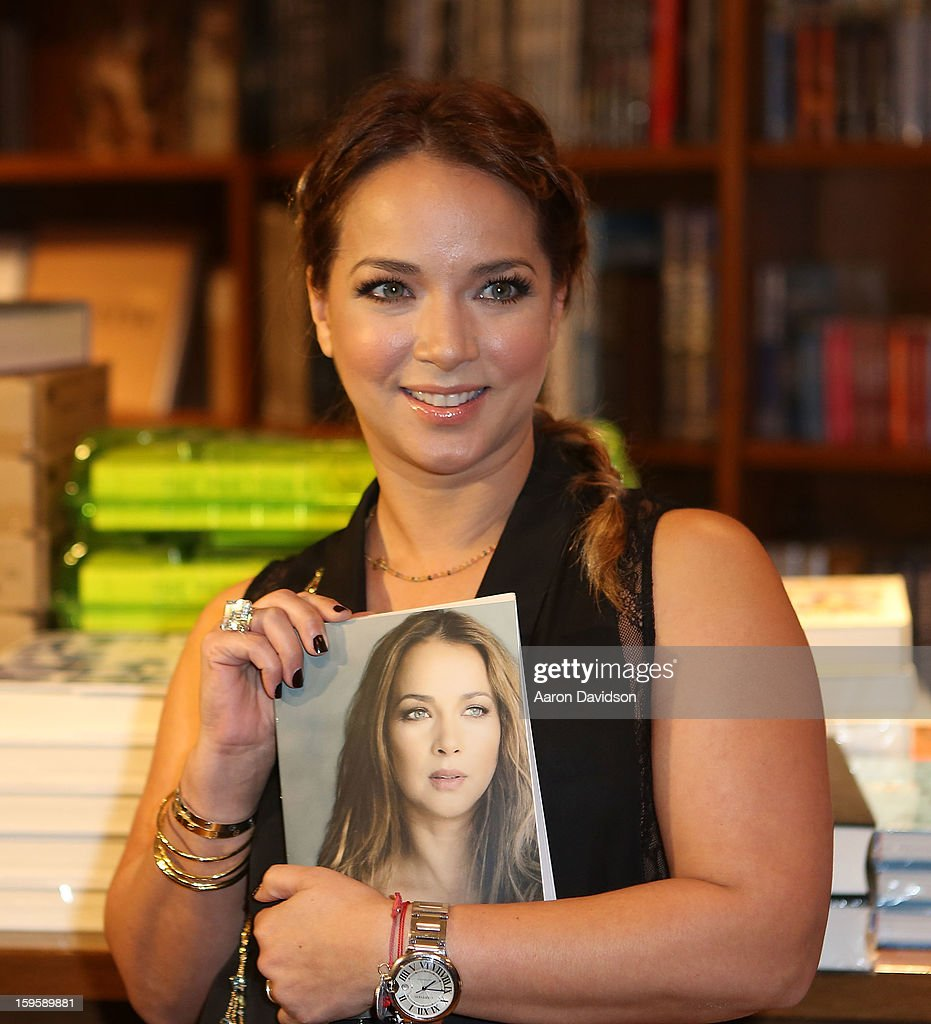 Adamari Lopez greets fans and signs copies of her book 'Viviendo' at Books and Books on January 16, 2013 in Coral Gables, Florida.