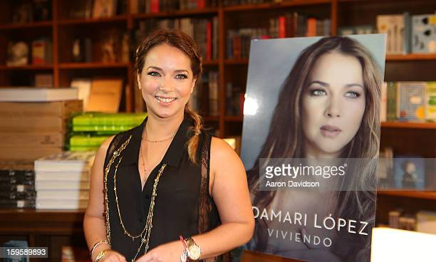 Adamari Lopez greets fans and signs copies of her book 'Viviendo' at Books and Books on January 16 2013 in Coral Gables Florida