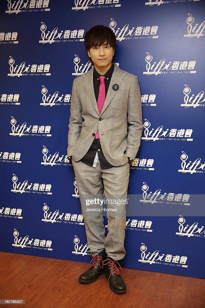 Adason Lo at the 2013 IFPI Hong Kong Top Sales Music Awards at Star Hall on February 26, 2013 in Hong Kong, Hong Kong.
