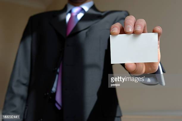 add text to business card
